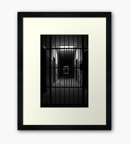 Cold darkness and despair Framed Print