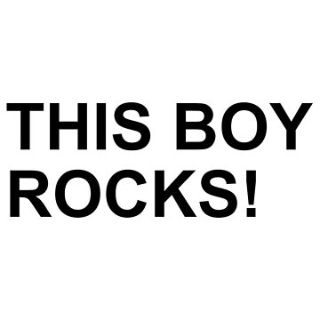 This boy rocks by Designzz
