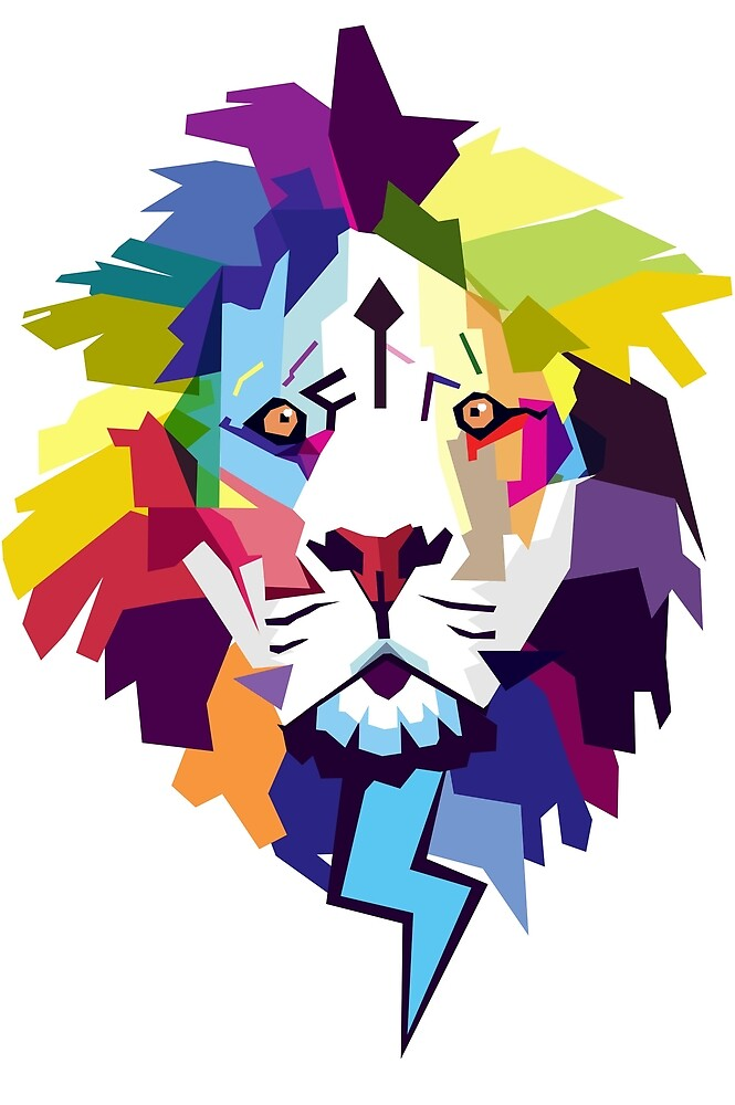 LION FACE by BLTV