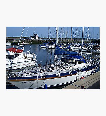Caernarfon Harbour - North Wales Photographic Print