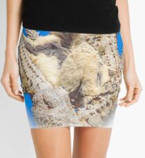 Living in the spiny forest Mini Skirt