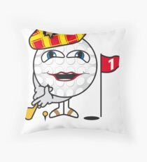 Golf Ball Throw Pillow