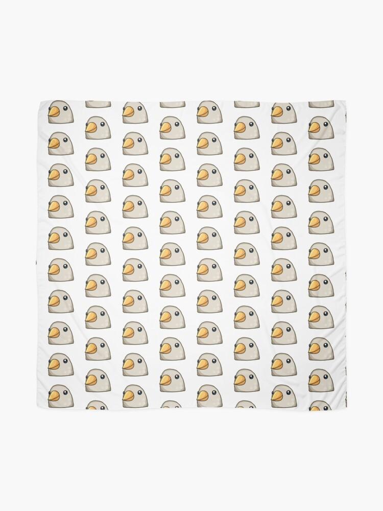 Alternative Ansicht von Vogel Emoji Whatsapp Tuch