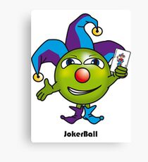 Joker Ball Canvas Print