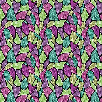 Abstract geometric pattern by fuzzyfox