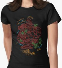 Brooklyn - Bright Women's Fitted T-Shirt