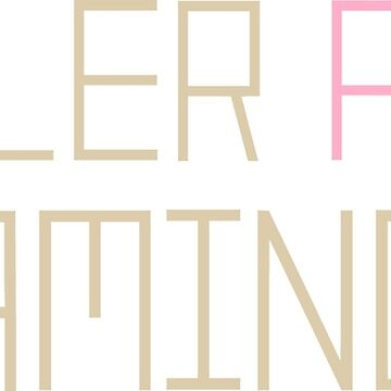Killer Pink Flamingos by FuzzCanyon