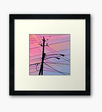 Wired Sky 2 Framed Print