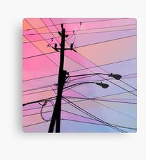 Wired Sky 2 Metal Print