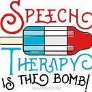Speech Therapy is the Bomb! by Peachie Speechie ® by PeachieSpeechie