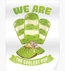 Funny Cool Cream Pop t-shirt  Poster