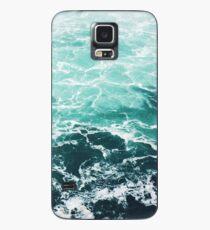 Blaue Ozean-Sommer-Strand-Wellen Hülle & Klebefolie für Samsung Galaxy