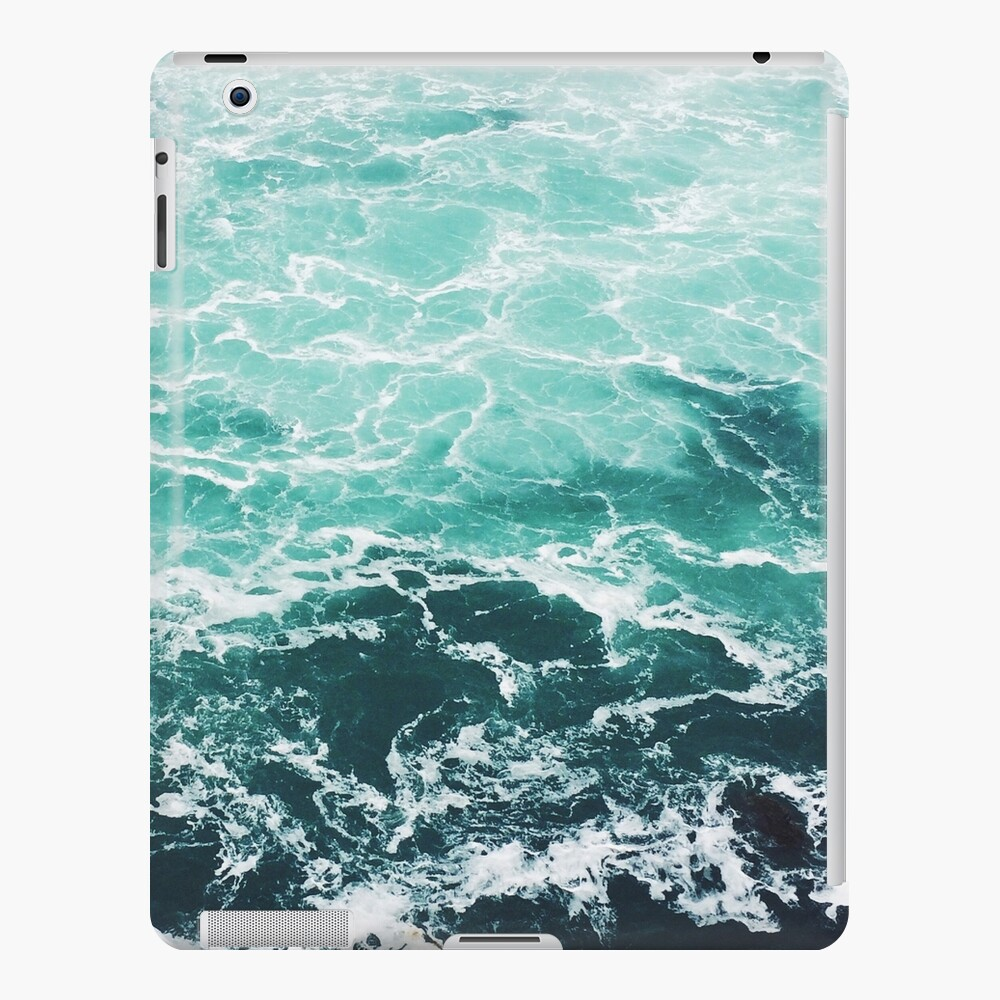 Blue Ocean Summer Beach Waves iPad Case & Skin