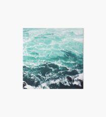 Blaue Ozean-Sommer-Strand-Wellen Galeriedruck