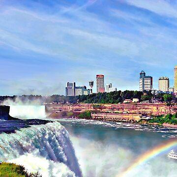 Niagara Falls NY - Under the Rainbow by SudaP0408