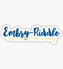 Embry-Riddle Aeronautical University Sticker