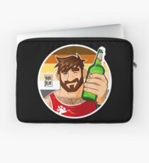ADAM LIKES BEER - BEAR PRIDE EDITION Laptop Sleeve