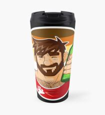 ADAM LIKES BEER - BEAR PRIDE EDITION Travel Mug