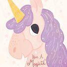 Magical Unicorn by Claire Stamper