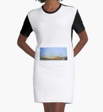 #1 Somewhere Over The Rainbow Graphic T-Shirt Dress