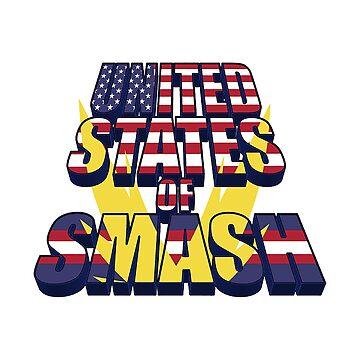 My Hero Academia - United States Of Smash by SenxCreations