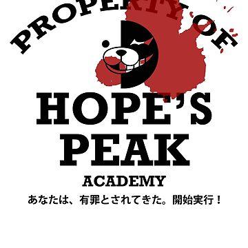 Property of Hope's Peak Academy by DJSev
