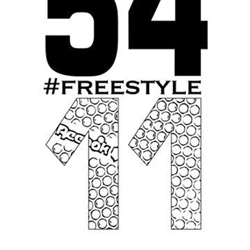 Reebok Freestyle Sneaker Tread Print in Black #freestyle by Swaygo