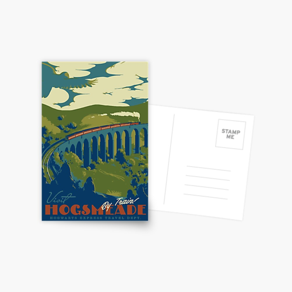 Visit Hogsmeade Postcard