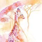 New Born _ Giraffe by Stephie Butler