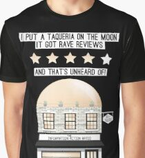 Arctic Monkeys - Four Out of Five - Taqueria on the Moon Graphic T-Shirt