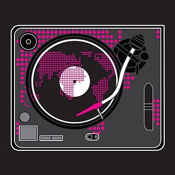 DIGITAL TURNTABLE by SOLSKETCHES