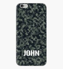 Camouflage Personalized For John iPhone Case