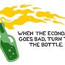 The Bottle by RnBSalamander