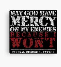 No Mercy Canvas Print