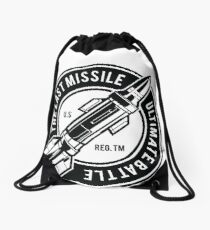 Missile The Last Missile Drawstring Bag