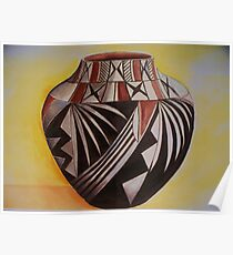 Indian pottery Poster