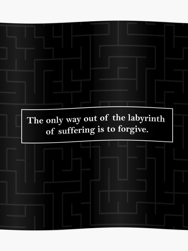 Labyrinth Quote - Looking for Alaska | Poster