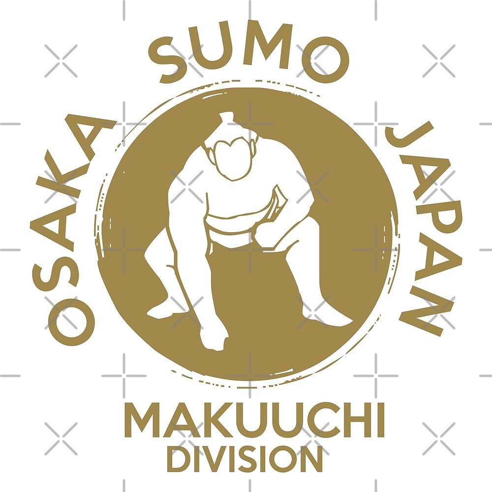 Sumo Wrestling Japan Osaka Makuuchi Division by IronEcho