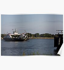 St. Johns River Ferry Poster