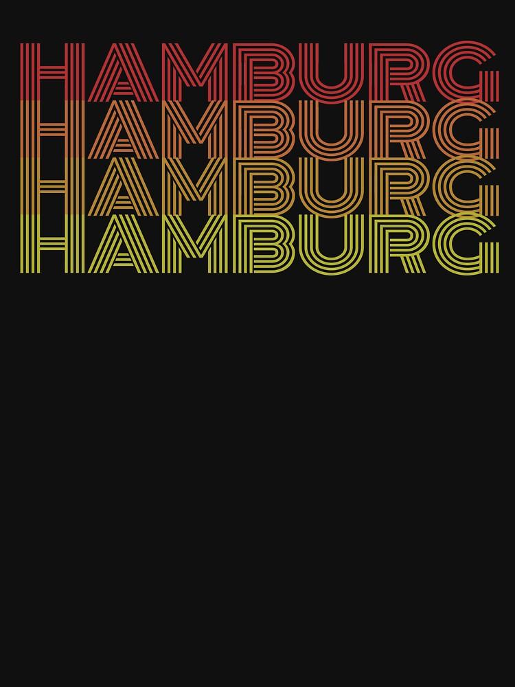 Hamburg Retro 70s Vintage by 4tomic