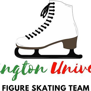 Washington University Figure Skating Team by leanicolee