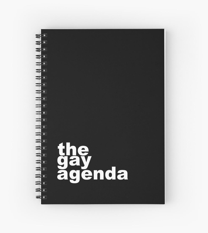 The gay agenda by Mhaddie