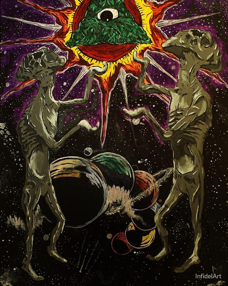 Sun Worship by InfidelArt