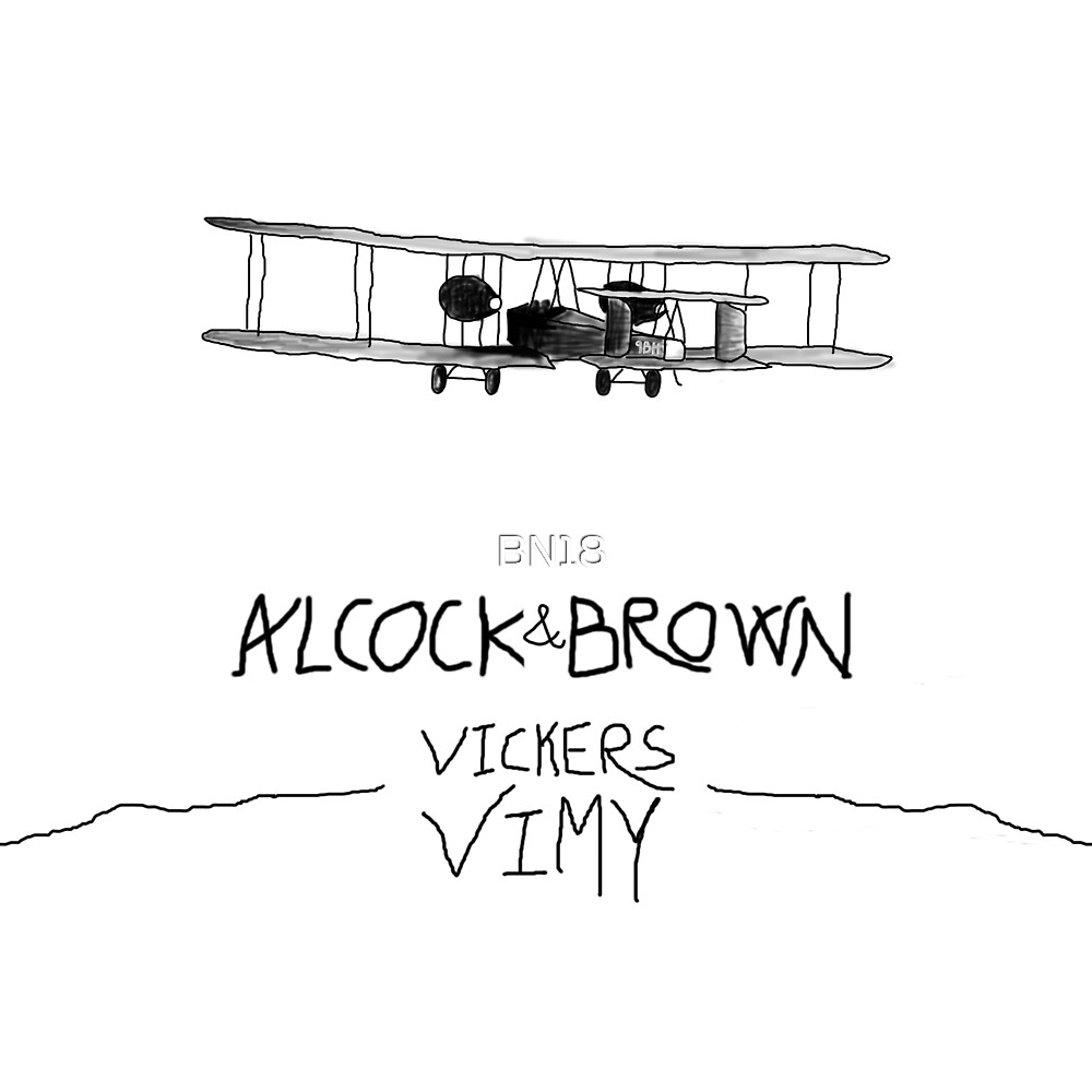 Alcock & Brown by 9BH by BN18