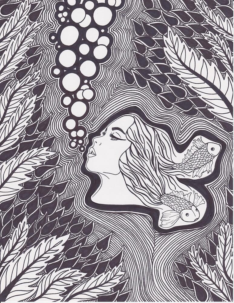 Stuck Underwater  by SarahGroth
