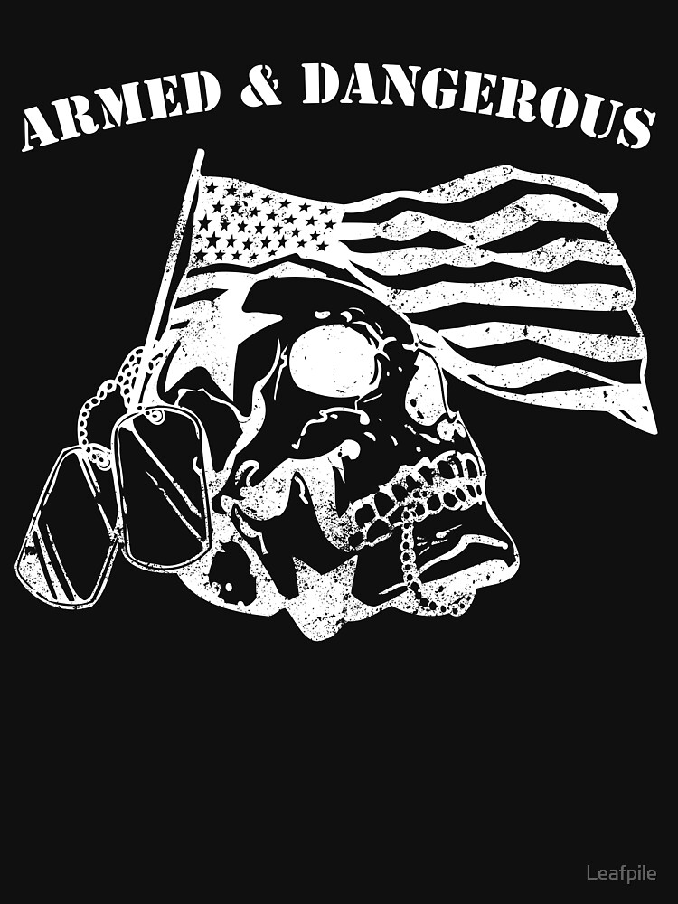 armed and dangerous military veteran army by Leafpile