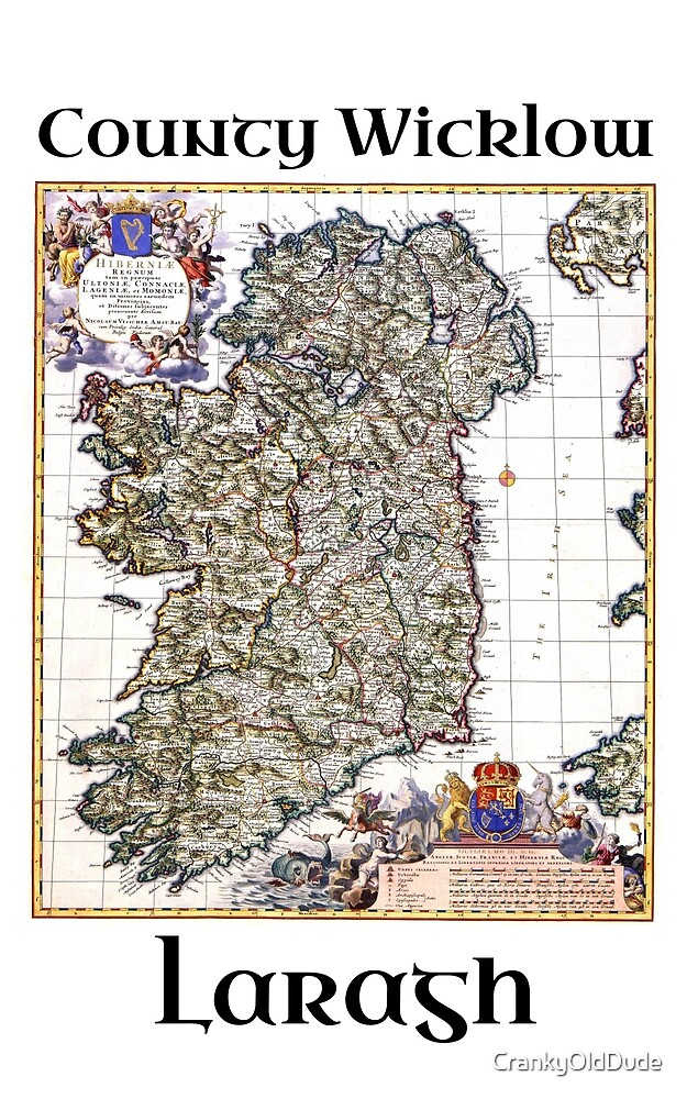 Laragh Co Wicklow Ireland by CrankyOldDude