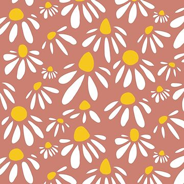 Modern Floral Pattern by agathavieira