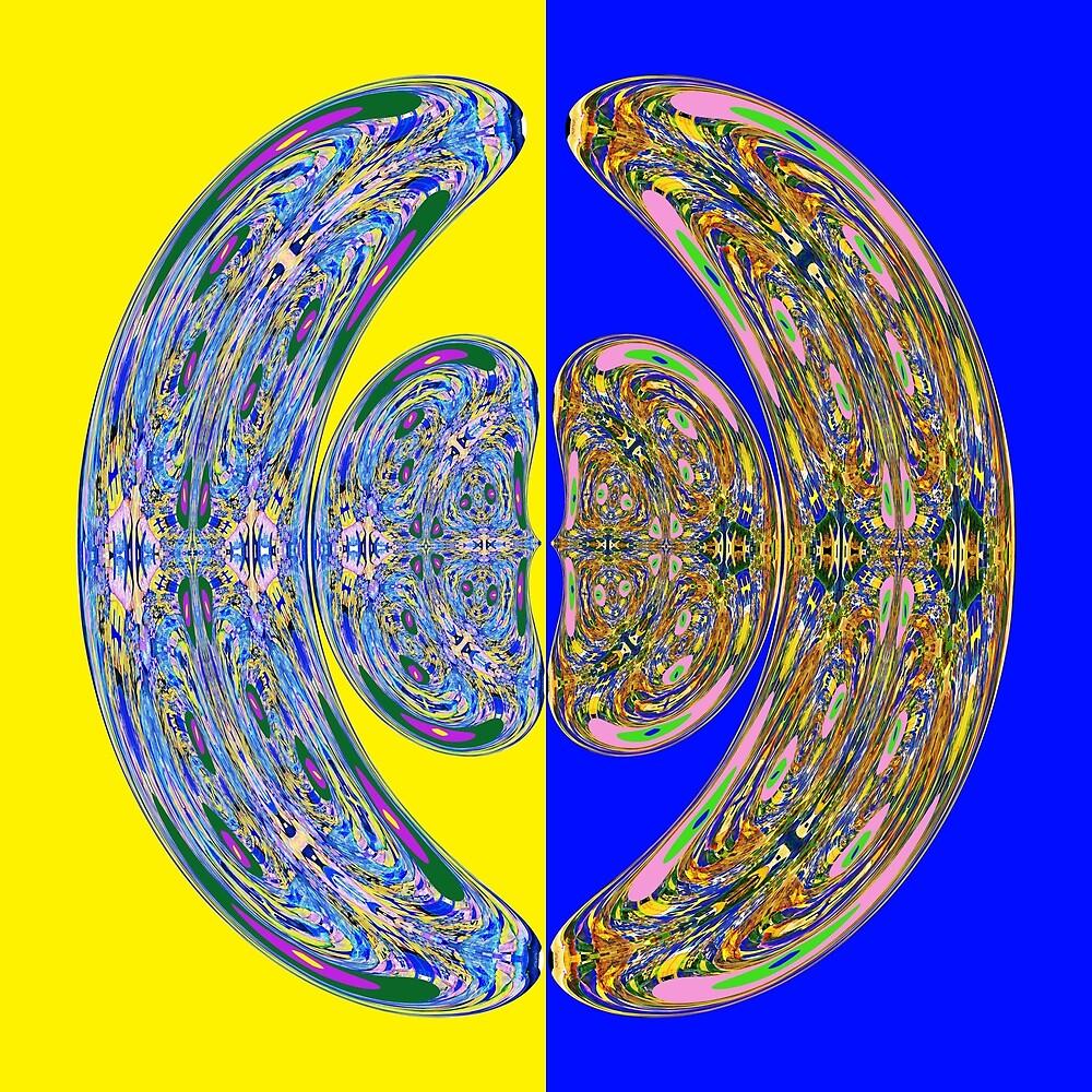 Cosmic Reunion  by Nikola Eftimov