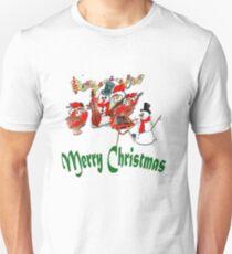 Merry Christmas Chums Unisex T-Shirt